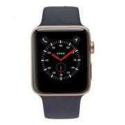Apple Watch (Series 2) 42mm carcasa de aluminiorosaoro con con correa deportiva