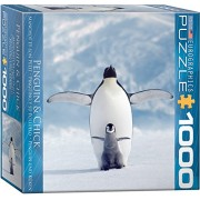 EuroGraphics Penguin & Chick Small Box Puzzle (1000 Pieces)