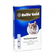 Bolfo Gold Kat 40 - 4 Pipetten