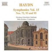 J. Haydn - Symphonies V.15n.72/93/95 (0730099579728) (1 CD)