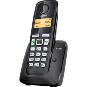 Безжичен DECT телефон Gigaset A220, Черен, 1015072