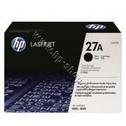 Тонер HP 27A за 4000/4050 (6K), p/n C4127A - Оригинален HP консуматив - тонер касета