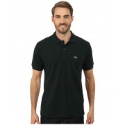 Lacoste Short Sleeve Classic Fit Chine Pique Polo Shirt Pin Mouline
