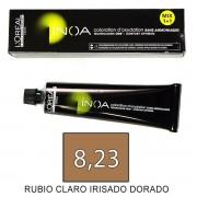 Loreal INOA 8,23 Rubio Claro Irisado Dorado - tinte 60grs