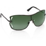 Swarovski Round Sunglasses(Green)