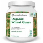 Bautura din iarba de grau - Wheat Grass, mentinerea greutatii, 30 portii, Amazing Grass