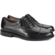 Clarks Dorset Boss Black Leather Formal Shoes For Men(Black)
