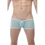 Petit-Q Buxy Transparent Boxer Brief Underwear Sky Blue/White PQ170161