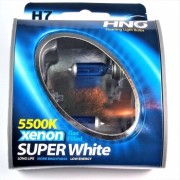 Set becuri H7 HNG 5500K 55W Super White Halogen