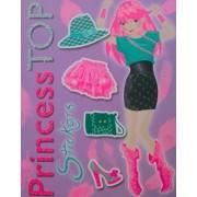 Princess Top - Stickers (violet)