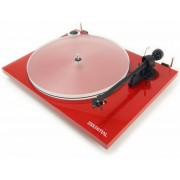Pro-Ject Essential III A Turntable Red