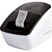 Brother Stampante termica Brother QL-700 diretta 300 x 300DPI Nero, Bianco (CD)