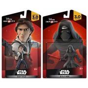 Disney Infinity Star Wars: Han Solo + Kylo Ren - Action Figure Set NEW