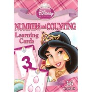 Disney Princess Numbers and Counting Learning/Flash Cards (Lite Pink Box)