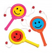 Baker Ross Happy Face Noise Makers (Pack of 8)