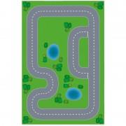 Shoppartners Speelgoed autowegen stratenplan wegplaten racecircuit set karton