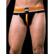 Barcode Berlin Vitja Jock Strap Underwear Black/Orange/White 91139