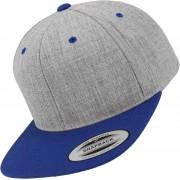Flexfit Classic 2-Tone Snapback grau meliert blau