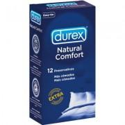 Durex preservativos natural comfort pack 12 unidades