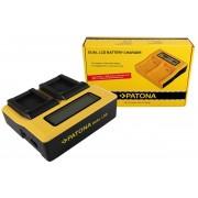 PATONA Dual LCD USB Charger for Sony NP-BX1 BX BX1 NP-BX1 Cybershot DSC HX300 DSC HX50V DSC RX1