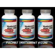 Best Hyaluronic Acid 1900 si Colagen de Tip 2, Tratament Naturist Artrita Reumatoida Coxartroza Gonartroza - 6 LUNI Pret Hialuronic *