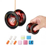 KASCIMU YOYO Alloy Aluminum Professional Yo-yo Yoyo Toys Suitable for 1A 3A 5A play-More 2 Playing Method Without Wire