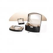 Caseta bijuterii cu o mini caseta pentru voiaj