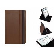 Uniek Hoesje voor de Hip Street Titan 7 Inch - Multi-stand Cover, Bruin, merk i12Cover
