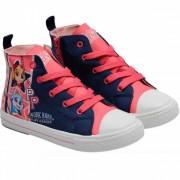 Tenisi Skye Paw Patrol cu licenta Nickelodeon roz navy marimi 25 32
