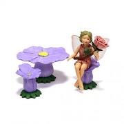 Flower Fairies Secret Garden - Rose Fairy & Accessories...