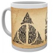GYE Harry Potter - Deathly Hallows Words Mug