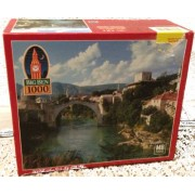 Big Ben Turkish Bridge, Yugoslavia 1000 Pieces Puzzle