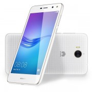 Telefon mobil Huawei Y6 DS White, model 2017, memorie 16 GB, ram 2 GB, 5 inch, android 6.0 Marshmallow