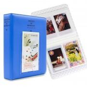 FUJIFILM 64 zakken naam kaart stukken voor Fujifilm Instax Mini 8/7s/70/25/50s/90 (blauw)
