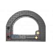 Porta para forno modelo Iglu Vidro