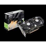 VGA MSI GTX 1050 Ti 4GT OC, nVidia GeForce GTX 1050 Ti, 4GB 128-bit GDDR5, do 1455MHz, DP, DVI-D, HDMI, 36mj