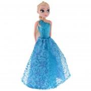 Muñeca Frozen Aprendizaje Automático Elsa Con Música-Azul