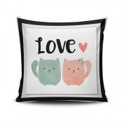 Fata de perna Cushion Love, 768CLV0452, 45 x 45 cm, Multicolor