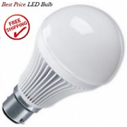 FINEST 9W PURE WHITE LIGHT LED BULB FOR BRIGHT SAFE AND ECONOMICAL LIGHT