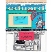 EDU33143 1:32 Eduard Color Zoom PE - Do 335B Interior (for use with the HK Models model kit) [MODEL KIT ACCESSORY]