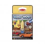 Carnet de colorat Apa Magica Vehicule, Melissa and Doug, 4 pagini