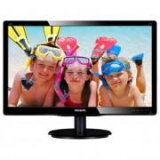 Philips monitor LED V-line 220V4LSB/00, 22\ DVI, EPEAT ezüst, EPA5.0, fekete