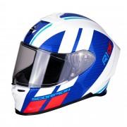 Scorpion Casco Moto Integrale Exo-R1 Air Corpus Blue White Red