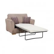 Oak Furnitureland Taupe Fabric Sofas - Armchair Sofa Bed - Jasmine Range - Oak Furnitureland