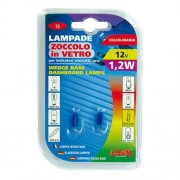 Verlichting T5 lamp 12V 1.2W blauw