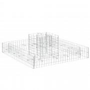 [pro.tec]® Комплект от 2 броя градински габиони - ограда