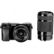 Sony Alpha 6000 Kit zwart SEL-P 16-50 SEL 55-21