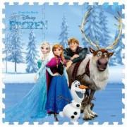 Covor puzzle din spuma Frozen Elsa Disney 91 x 91 cm 9 piese