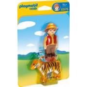 1.2.3 Ingrijitor cu Tigru Playmobil