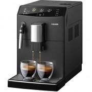 Espressor automat Philips HD8827/09, 1850W, Sistem spumare lapte, Rasnite ceramice, Boiler incalzire rapida, 15 bar, 1.8 l, Negru